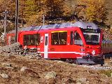 Bernina Express all'Alpe di Bondo