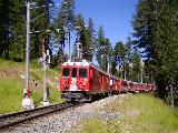 Bernina Express a Surovas