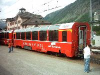 Carrozza panoramica Bernina Express